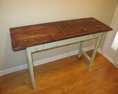 SALE! - Farmhouse Entryway Table / Sofa Table / Foyer Table / TV Stand