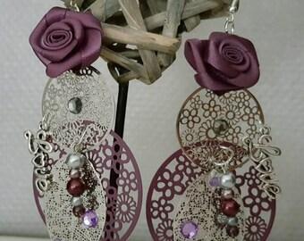 So chic earrings