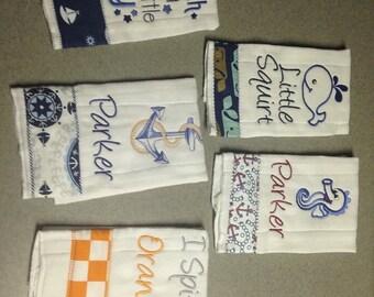 Set of 3 Diaper Burp Cloth