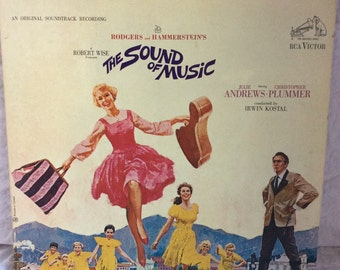 Free shipping with - Original Rogers and Hammerstein RCA Victor LP album. The Sound of Music. Includes an 8 page booklet of musical highligh