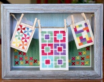Oh You Pretty Things : Quilted Lovelies Cross Stitch Pattern