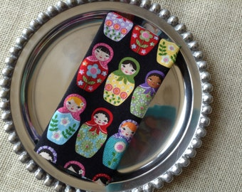 Matryoshka Doll Napkins, Russian Napkins, Nesting Doll Napkins