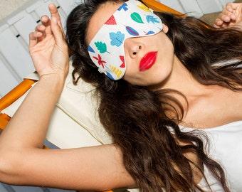 Organic cotton sleep mask