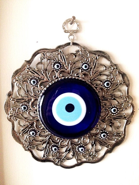 Evil Eye Decoration Wall Hanging : Evil eye wall hanging nazar boncuk by