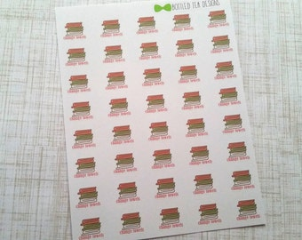 Laundry Towel Change Stickers (Set of 40) Item #030