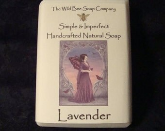 Lavender Soap, Soap, Natural Soap, Handcrafted Soap, Bar Soap, Vegan Soap, Lavender, Bath Soap, Bath and Body