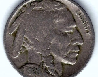 1926-P Buffalo Nickel