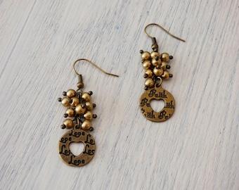 Love Faith Pearl Earrings AR007
