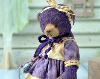 "Teddy bear ooak ""Lily"""