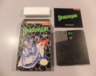 Shadowgate Original NES Nintendo Vintage Video Game Complete