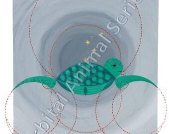 Orbital Animals Turtle