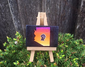 Justice for Arizona Mini Painting