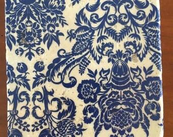 Delft Design Decorative Tile Coasters