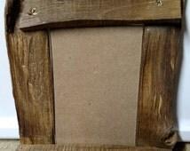 Split Wood Picture Frame 4x6