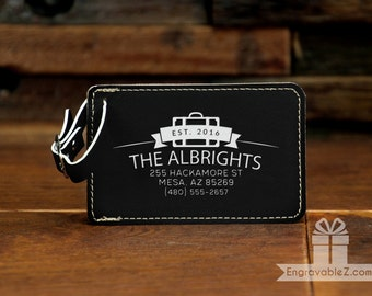 Personalized Luggage Tag - Family Baggage