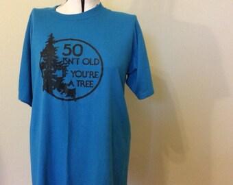 Tree Hugger T-shirt // Men's XL