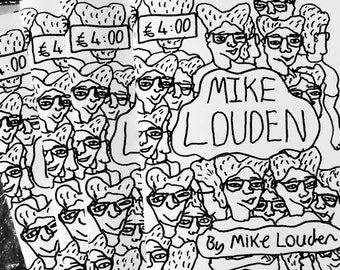 Mike Louden's Autobiographical Zine
