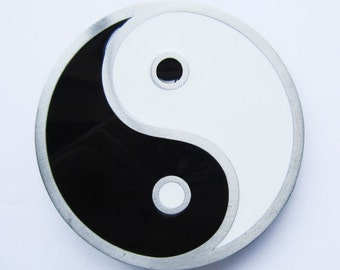 Yin and Yang Chinese Taoism Metal Fashion Belt Buckle