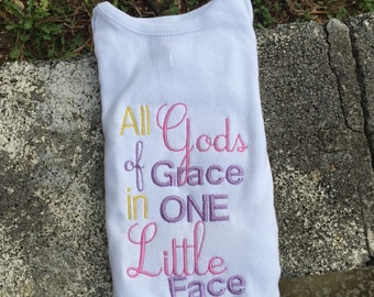 All of Gods Grance in One Little Face Girl