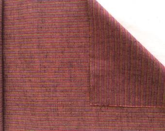 Vintage Japanese Kimono Fabric, Cotton Fabric, Tsumugi 3