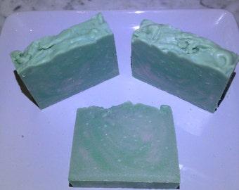 Perfect Pores Soap, Complexion Soap, Deodorizing, Green Healing Soap, Vegan