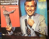 "Johnny Carson – Magic Moments From The Tonight Show 12""LP Vinyl Record ( 2LP's)"