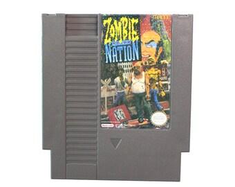 ZOMBIE NATION For Nintendo NES