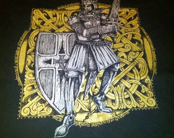 King Arthur shirt, size M