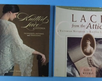 Two Books on Knitting Lace