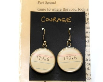 Dewey Decimal System, Courage, 179.6,  call number, library, gift
