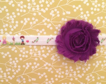 Tangled elastic headband