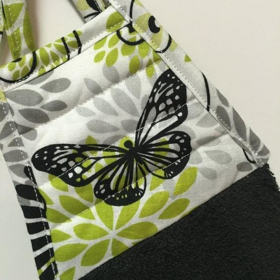 Butterfly Kitchen TowelButterfly DecorBlack By Thestuffedcat