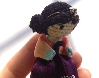 Little Korean girl doll