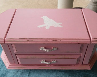 A Vintage Up-cycled 1950's Jewelry Box