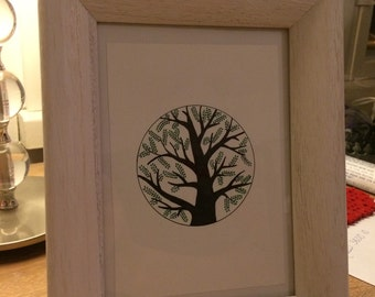 Tree illustration (A6)