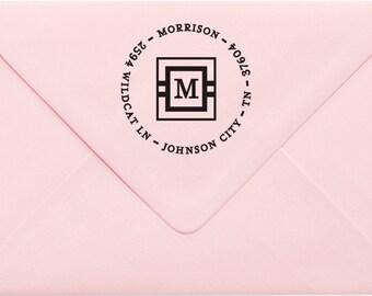 Custom Return Address Stamp, Wedding Address Stamp, Change of Address Stamp, Modern Address Stamp, Wedding Shower Gift, Teacher Gift 24MP