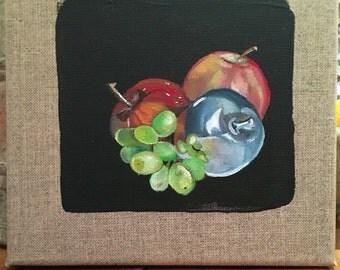 Silver apple (silver fruit series)