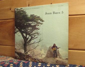 Joan Baez - 5 - 33 1/3 Vinyl Record