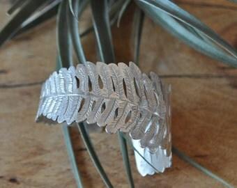 Silver Fern Bracelet