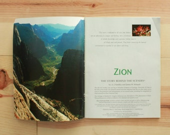 Zion National Park Photo Book