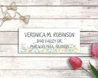 Address labels - Return address labels - Custom address labels - Personalized address labels - Wedding address labels - Personalized sticker