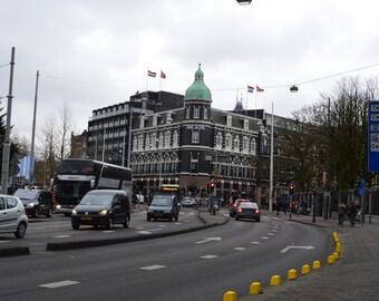 City Street, Amsterdam, The Netherlands