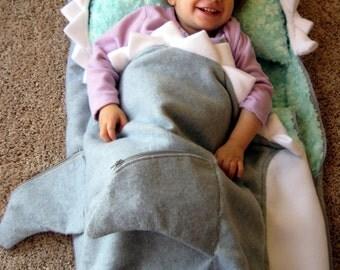 Shark Pillow Sleeping Bag shark sleeping bag | etsy