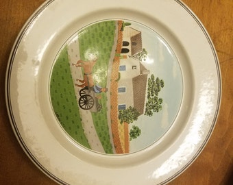 "Villeroy Boch Design Naif Laplau 1 10 1/2"" Dinner plate"