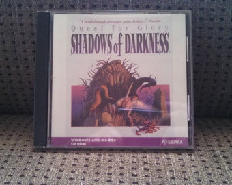 Quest for Glory 4 Shadows of Darkness PC Game CD-Rom MS-Dos Sierra