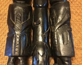 Vintage Ethnic Fertility Statues