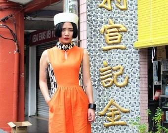 Fen Qipao Orange