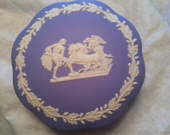 Wedgwood/Jasperware Grecian Trinket Box