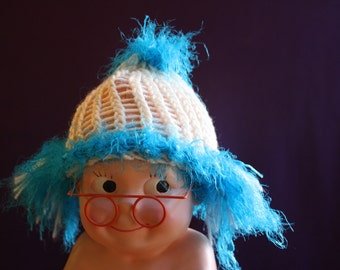 Baby Krusty the Clown Wig/Hat Combination; Simpsons Baby Costume/Cosplay