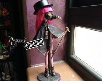 Lady Plague - Monster High Inner Monster Custom Doll